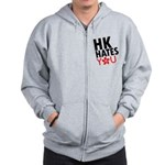 Hong Kong Hates You Zip Hoodie