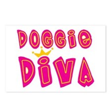 Doggie Diva Postcards (Package of 8)