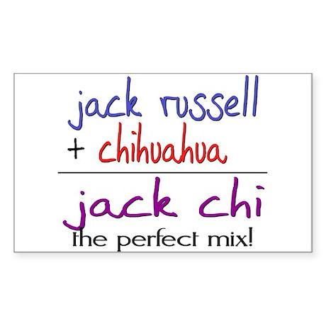Jack Chi PERFECT MIX Sticker (Rectangle)
