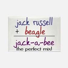 Jack-A-Bee PERFECT MIX Rectangle Magnet