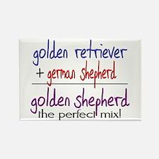 Golden Shepherd PERFECT MIX Rectangle Magnet