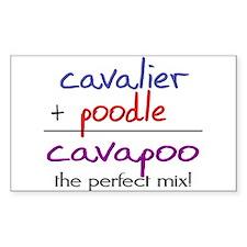 Cavapoo PERFECT MIX Decal