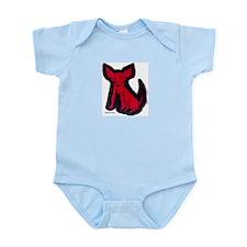 """Sad Little Red Dog"" - Infant Creeper"