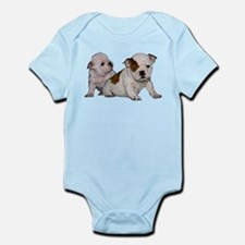bulldog babies Infant Bodysuit