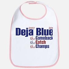 Deja Blue Giants Bib