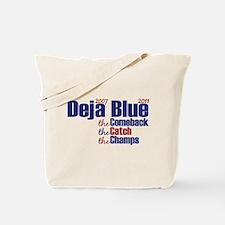 Deja Blue Giants Tote Bag