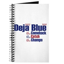 Deja Blue Giants Journal