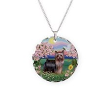 Blossoms/Yorkie #20 Necklace