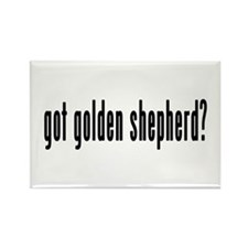 GOT GOLDEN SHEPHERD Rectangle Magnet