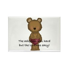 Adoption Bear Rectangle Magnet (10 pack)