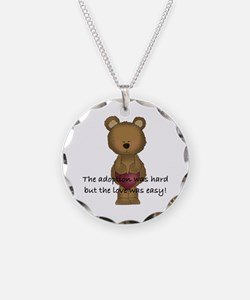 Adoption Bear Necklace