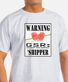 GSR SHIPPER Ash Grey T-Shirt