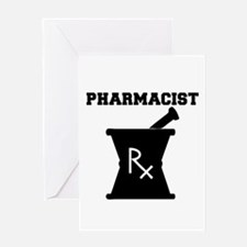 Pharmacist Rx Greeting Card