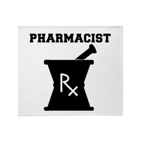 Pharmacist Rx Throw Blanket