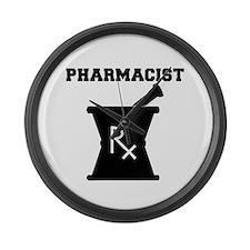 Pharmacist Rx Large Wall Clock