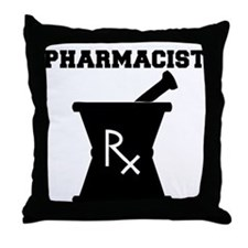 Pharmacist Rx Throw Pillow
