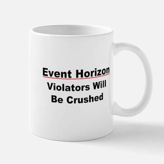 Event Horizon: Crushed Mug