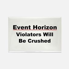 Event Horizon: Crushed Rectangle Magnet