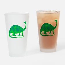 """Brontosaurus"" Drinking Glass"