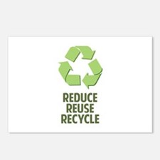 Reduce Reuse Recycle Postcards (Package of 8)