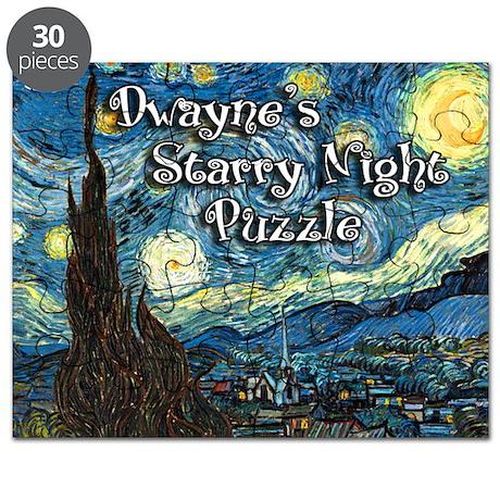 Dwayne's Starry Night Puzzle