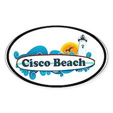 "Cisco Beach ""Surf"" Design. Decal"