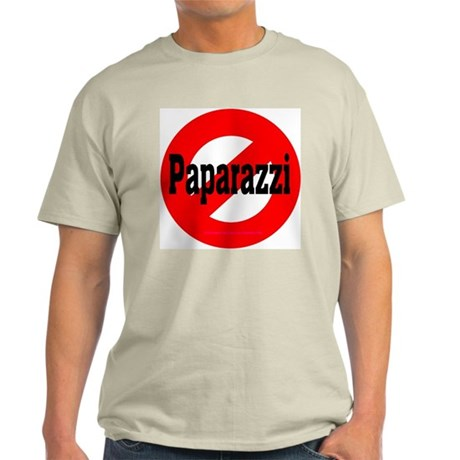 No Paparazzi Edition #6 Ash Grey T-Shirt