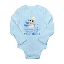 Personalized Sous Chef Long Sleeve Infant Bodysuit