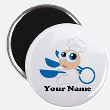 Personalized Baby Chef Magnet