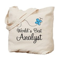 Analyst (World's Best) Gift Tote Bag