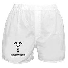 Pharmacy Tech Caduceus Boxer Shorts