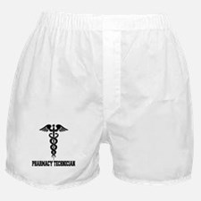 Pharmacy Tech Caduceus Boxer Shorts