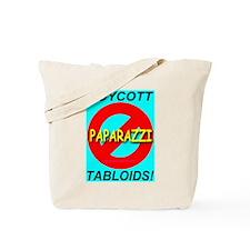 Boycott Tabloids Tote Bag