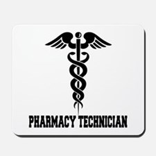 Pharmacy Tech Caduceus Mousepad