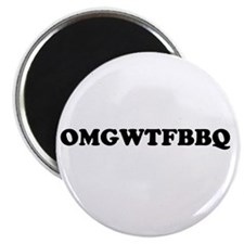 "Cute Barbeque 2.25"" Magnet (10 pack)"