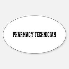 Pharmacy Technician Sticker (Oval)