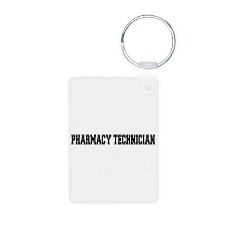 Pharmacy Technician Aluminum Photo Keychain