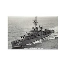 USS HAYNSWORTH Rectangle Magnet