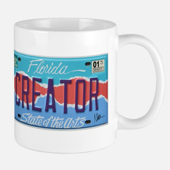 Florida Art Plate Mug