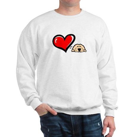 Love = Golden Sweatshirt