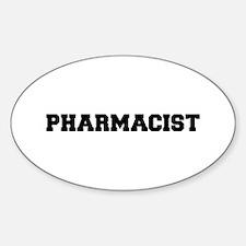 Pharmacist Sticker (Oval)