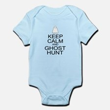 Keep Calm Ghost Hunt (Parody) Infant Bodysuit