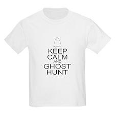 Keep Calm Ghost Hunt (Parody) T-Shirt