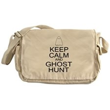 Keep Calm Ghost Hunt (Parody) Messenger Bag