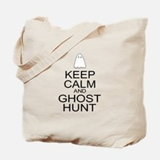 Keep Calm Ghost Hunt (Parody) Tote Bag