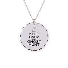 Keep Calm Ghost Hunt (Parody) Necklace