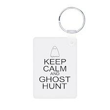 Keep Calm Ghost Hunt (Parody) Keychains