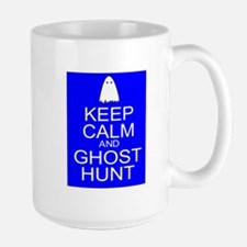 Keep Calm Ghost Hunt (Parody) Ceramic Mugs