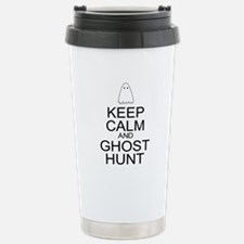Keep Calm Ghost Hunt (Parody) Stainless Steel Trav