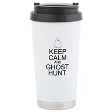 Keep Calm Ghost Hunt (Parody) Travel Mug